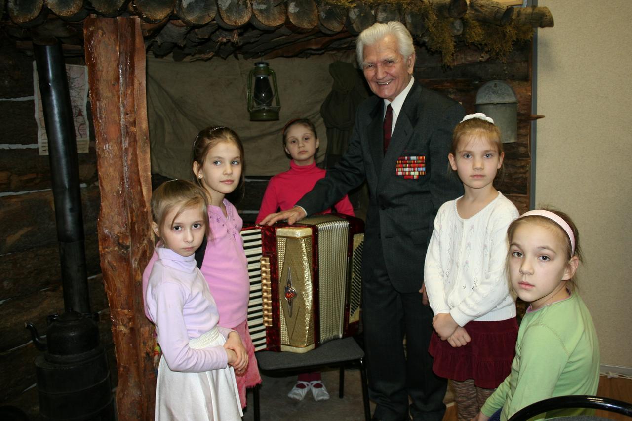 Голговский  Владимир Петрович в музее Центра